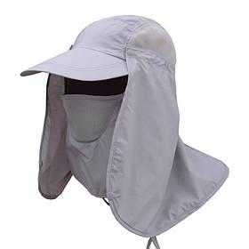 Рыболовная кепка LeRoy с защитой открытых участков головы