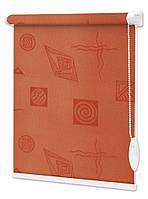 "Ролеты на окна тканевые с рисунком ""Икея"", 10 цветов, цена от 0.5 кв.м"