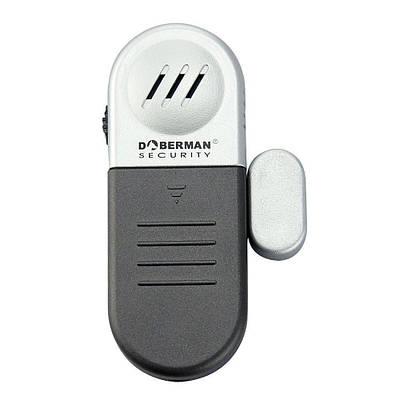 Датчик открытия с сиреной Doberman Security SE-0109, мини сигнализация на дверь или окно