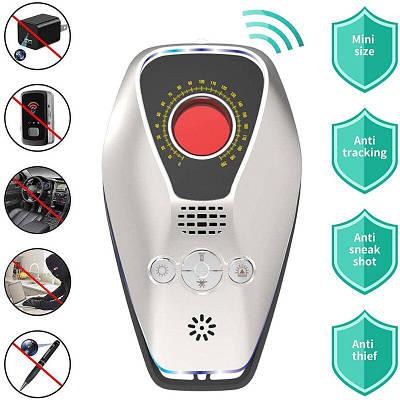 Детектор скрытых камер 4 в 1 многофункциональный IDSVN X6 с датчиком вибрации, сиреной, отпугивателем комаров