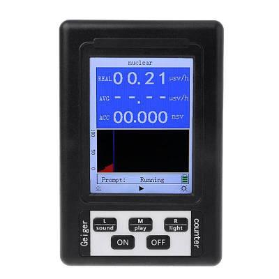 Дозиметр радиометр бытовой, счетчик гейгера - прибор для измерения радиации Kailishen BR-9B