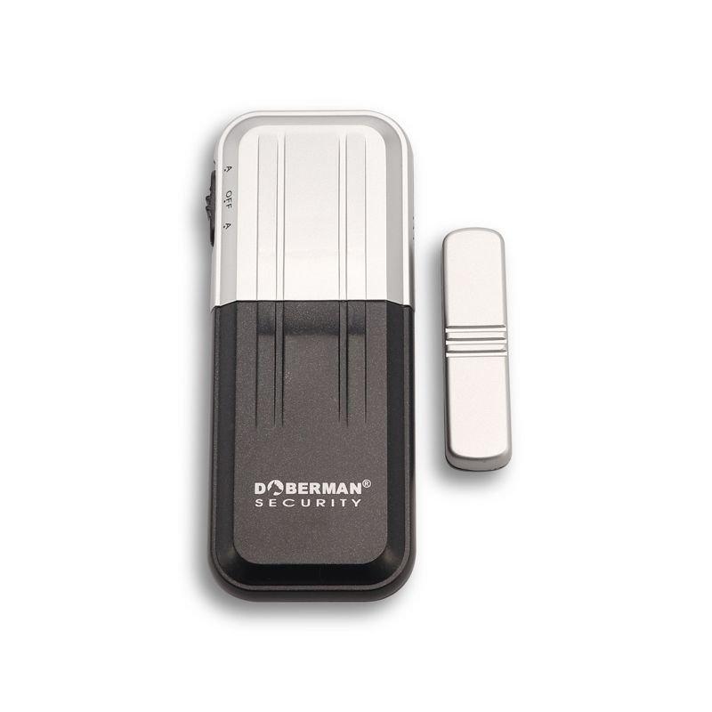Звуковая сигнализация на входную дверь или окно Doberman Security SE-0162, датчик открытия с сиреной