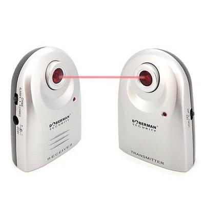 ИК барьер с инфракрасным лучом до 20 метров и сиреной Doberman Security SE-0161