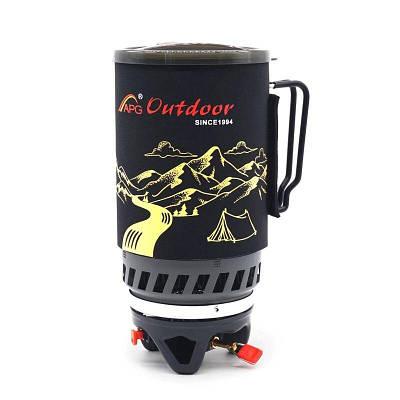 Система приготовления пищи интегрированная с теплообменником туристическая APG ST-83, 1.4 литра
