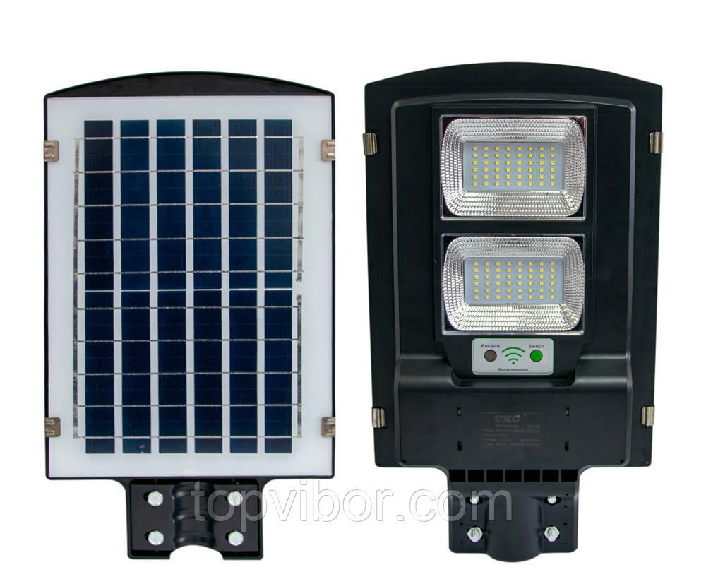 Фонарь на столб на солнечной батарее Solar Street Light UCK 2VPP 90W (ART5622), уличный LED светильник (VT)