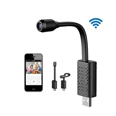 Мини wifi камера USB с гибкой ножкой Jianshu U21wifi, 2 Мп, Full HD 1080P