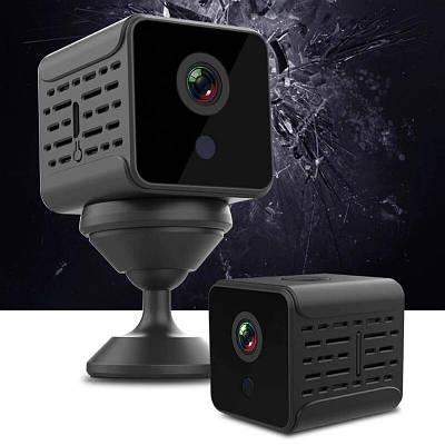 Мини камера wifi Full HD 1080P Wsdcam A12, 2 Мегапикселя, батарея до 5 часов работы