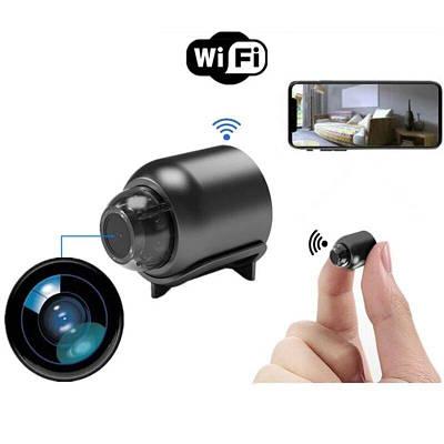 Миниатюрная камера wifi беспроводная Boblov R-20, 1 Мп, HD 720P, размер 40x33x33 мм, без аккумулятора