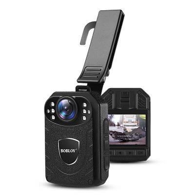 Нагрудный видеорегистратор для полиции - боди камера полицейского Boblov KJ21, 2 Мп, до 11 часов работы