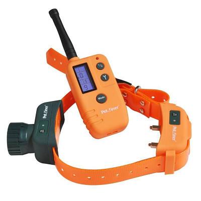 Электронный ошейник для собак с электрошоком, бипером и вибрацией Petaliner PET910-2