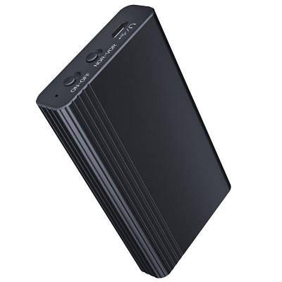 Цифровий диктофон з великим часом роботи і запису до 500 годин Xixi L1, micro SD до 128 Gb