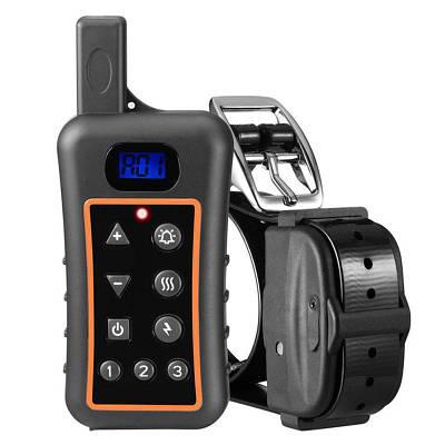Электронный ошейник для собак дрессировочный Trainertec DT1200V водонепроницаемый аккумуляторный до 1200