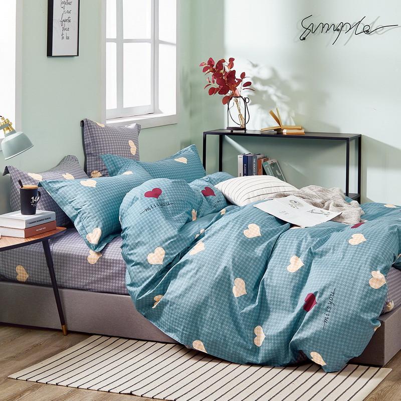 Комплект постельного белья Bella Villa Сатин 200 x 220  B-0291 Eu