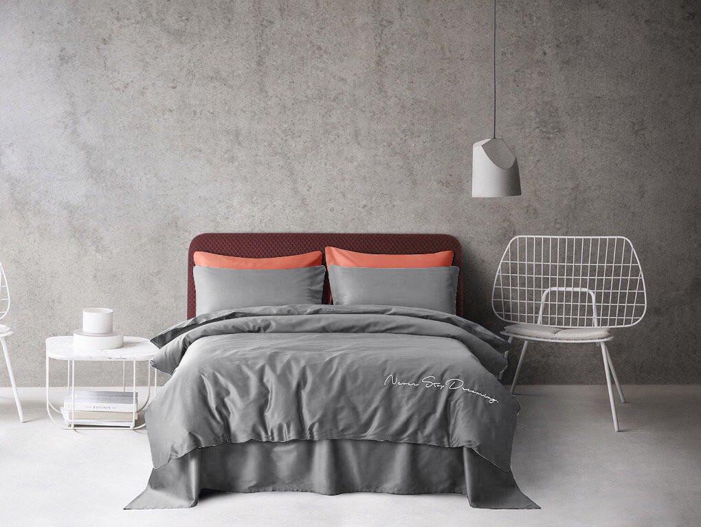 Комплект постельного белья Bella Villa Satin De Lux 200 x 220 T-0009 Eu