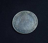 Талер 1633 г Польша Торунь Владислав IV Ваза копия в серебре №643 копия