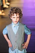 Детская нарядная рубашка для мальчика Baby Band Италия 2041/2 Серый
