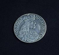Талер 1650 г Польша Ян Казимир копия серебряной монеты №645 копия