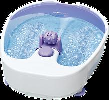 Ванночка масажер для ступнів ніг з нагріванням і гідромасажем Clatronic FM 3389