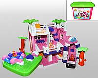 """Конструктор """"Домик для принцессы"""" 013888/08 Flamingo"""