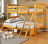 Кровать двухъярусная Черри-Лонг (с разной шириной ярусов)