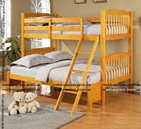 Кровать двухъярусная Черри-Лонг (с разной шириной ярусов), фото 1