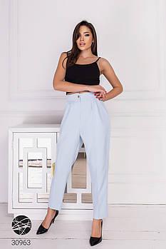 Практичные женские брюки-галифе из плотной костюмной ткани с 42 по 46 размер