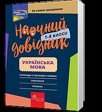 1-4 клас. Наочний довідник. Українська мова, Видавництво АССА