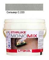 Monomix C.220 ведро 2,5 кг (сильвер) - однокомпонентный полиуретановый шовный заполнитель, Litokol