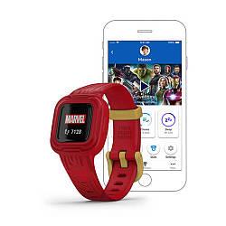 Фитнес-браслет GARMIN Vivofit Jr 3 Marvel Iron Man
