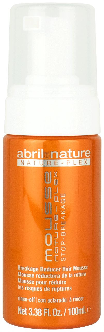 Мус для захисту та відновлення волосся Abril et Nature Nature-Plex Mousse Stop-Breakage 100 мл