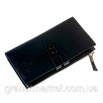 Жіночий гаманець Посміхнулася, чорний, еко шкіра, 197 Black