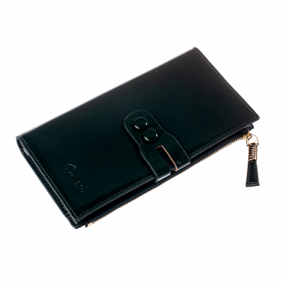 Женский кошелек Smiled, зеленый, эко кожа, 197 Green