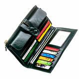 Женский кошелек Smiled, зеленый, эко кожа, 197 Green, фото 2