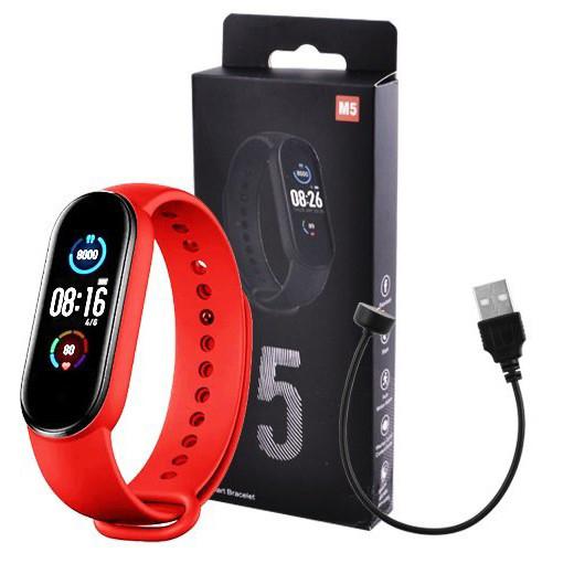 Годинник Smart Watch Mi BAND M5 RED