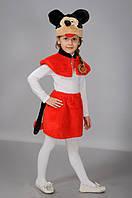 Детский карнавальный костюм Микки маус девочка Мышка Мышонок