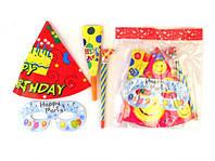 Набор для праздника 11103: колпачки, дудки, маски