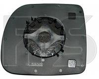 Вкладыш зеркала левого без обогрева на Renault Kangoo,Рено Кенго 97-03