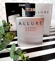 Chanel Allure Homme Sport Original TESTER 100 ml, Чоловічі Шанель Алюр Хоум Спорт ОРИГИНАЛ Алюр Хом