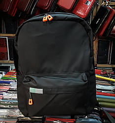Рюкзак для мальчика подроста  школьный черный городской легкий Bradford 1237