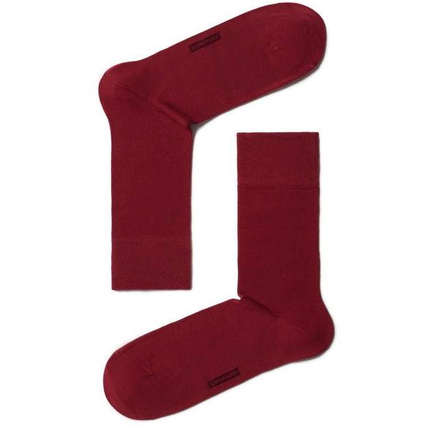 Мужские носки больших размеров классические красные бордо CLASSIC DIWARI набор 6 пар 5С-08СП