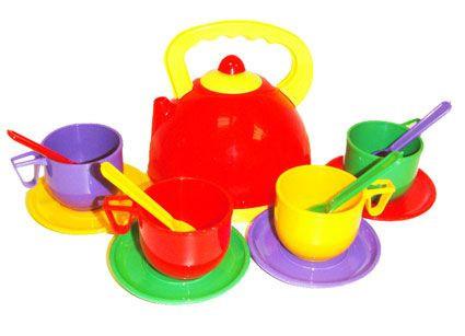 Набор детской посудки, 13 предметов,  ТМ Юника, 0279 - Товары для всей семьи ОПТОМ в Днепропетровской области