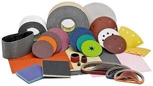 Наждачная бумага и шлифовальные круги