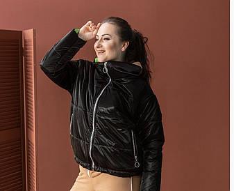 """Куртка женская демисезонная без капюшона """"Санта"""", фото 2"""