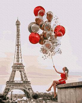 Картина за номерами Свято в Парижі 40 х 50 см (BK-GX37397)