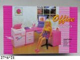 Набор мебели для куклы офис Глория, 96014