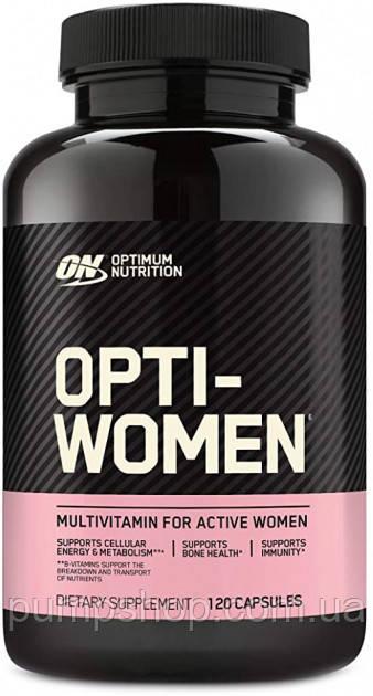 Вітаміни для жінок Optimum Nutrition Opti-Women 120 таб.