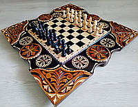 Эксклюзивные шахматы ручной работы