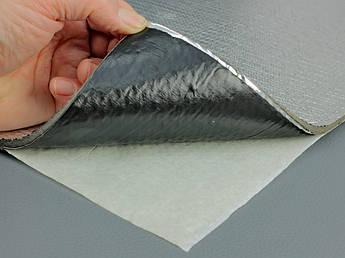 Вибро-шумка 2в1 ФИ4-Ф1.3 (700х500 мм) - вибро и шумоизоляция в одном листе.