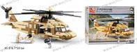"""Детский Конструктор """"Армия"""", военный вертолет, 434 дет., M38-B0509"""