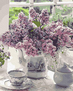 Картина за номерами Бузок на столі 40 х 50 см (BK-GX39318)